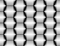 Projekta sześciokąta bezszwowy monochromatyczny wzór Obraz Stock
