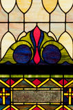 projekta szklany plamy okno Zdjęcia Royalty Free