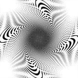 Projekta uncolored przeplatający ślimakowaty tło ilustracja wektor