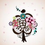 projekta uroczy drzewo Zdjęcie Stock