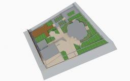 projekta wysoki ilustraci krajobrazu planu fabuły postanowienie Obraz Stock
