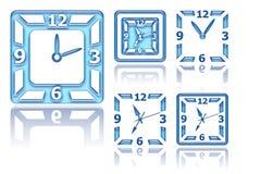 Projekta zegar ilustracji