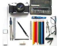 Projektantów narzędzia Fotografia Royalty Free