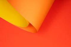 Projektant barwiący papier Zdjęcie Royalty Free