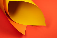 Projektant barwiący papier Obrazy Stock