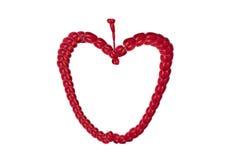 projektant jabłczana czerwień Zdjęcia Stock