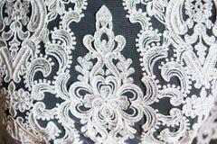 Projektant koronki suknie Obrazy Royalty Free