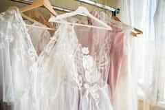Projektant koronki suknie Obraz Stock