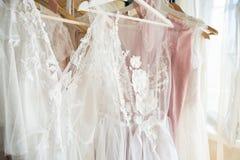 Projektant koronki suknie Zdjęcie Stock