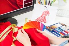 Projektant mody Zdjęcia Royalty Free
