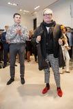 Projektant mody Rocco Barocco na dniu otwarcia pierwszy gatunku sklep w Rosja Zdjęcie Stock