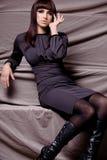 projektant suknia Zdjęcie Royalty Free