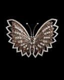 Projektanta diamentu motyl Zdjęcia Royalty Free