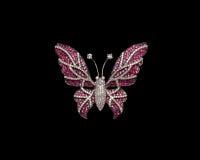 Projektanta diamentu motyl Obraz Royalty Free