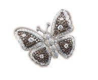 Projektanta diamentu motyl Obrazy Stock