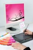 projektanta grafiki zajęcie Obrazy Royalty Free