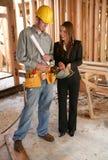 projektanta majstra budowlanego dom Zdjęcia Royalty Free