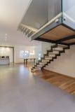 Projektanta wnętrze - schodki fotografia royalty free