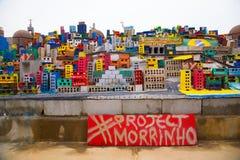 Projektet Morrinho gör till drottning högskolan NYC Arkivbild