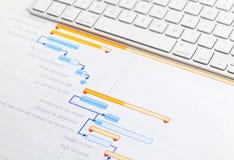Projektfortschritt Stockbilder
