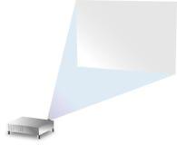 projektionsvägg Fotografering för Bildbyråer