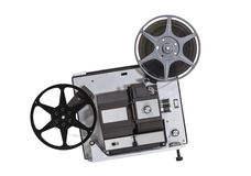 Projektor för hem- film 8 för tappning toppen Arkivbilder