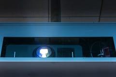 Projektor-Strahln-Kasten, der Gerät-Operations-helles Bild Ligh projektiert Lizenzfreies Stockbild