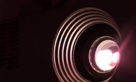 Projektorlinsenphotographie Stockbilder