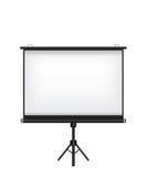 Projektorschirmillustration Stockfotografie