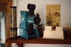 Projektoru kalejdoskop i obruszenie Obrazy Stock