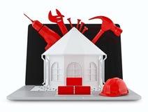 Projektować domy Zdjęcie Stock