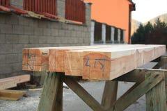 Projektowi drewniani promienie Obraz Royalty Free