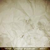 Projektująca tekstura zmięty papier Obraz Royalty Free