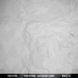 Projektująca tekstura zmięty papier Zdjęcia Royalty Free
