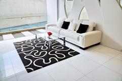 projektujący żywy kondominium pięknie pokój Obraz Royalty Free