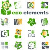 projektuje eco elementy ustawiającego wektor Zdjęcia Stock