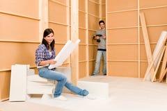 projekty dobierają się domowego ulepszenia potomstwa Zdjęcie Stock