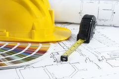 Projekty i koloru swatch Zdjęcie Stock
