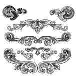 projekty royal elementów wektora Fotografia Stock