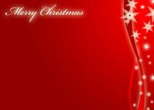Projest della cartolina di Natale Fotografie Stock Libere da Diritti