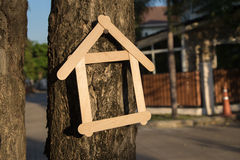 Projet à la maison Photos libres de droits