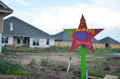 Projet d'étoile - Moore, OK Photographie stock libre de droits