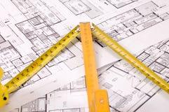 Projet d'architecture Images stock