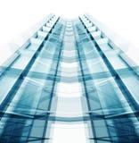 Projet d'architecture de construction rendu 3d Photographie stock libre de droits