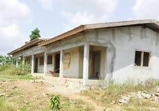 Projet de construction de salle de classe Images libres de droits