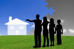 Projet de famille Photographie stock libre de droits