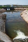 Projet de fleuves de Menashe image libre de droits