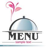 Projet 1 de menu Image stock