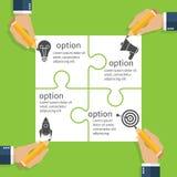 Projet de planification d'équipe d'affaires Concept d'affaires Photo libre de droits