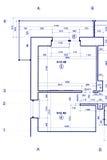 Projet technique, fond architectural une partie de constructio photo libre de droits